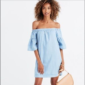 Madewell Azalea off-the-shoulder Dress